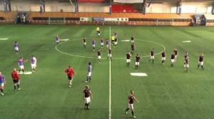 11 profi vert meg 22 amatőr focistát