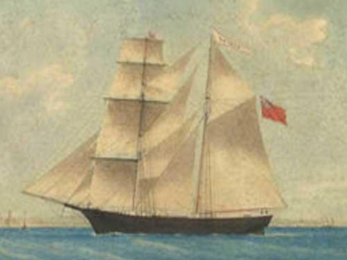 Rejtélyesen eltűnt a Mary Celeste legénysége