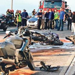 Három magyar motoros halt meg Lengyelországban