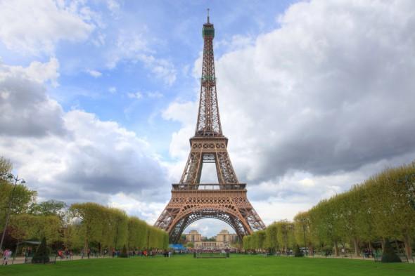 Franciaország, Párizs: Eiffel-torony