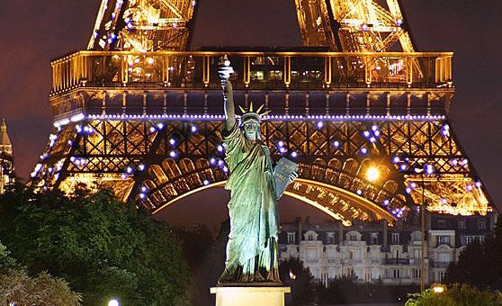 Franciaország, Párizs: Szabadságszobor