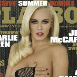 Ismét Jenny McCarthy domborít a Playboy címlapján