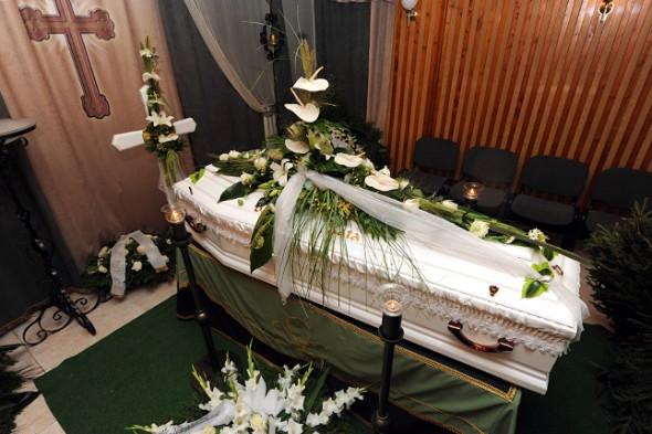 Bándy Kata temetés