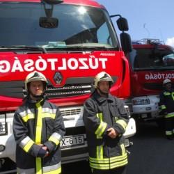 Tűzoltótragédia Ópusztaszernél