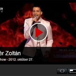 X-faktor: Fehér Zoltán – 3. élő adás – videó