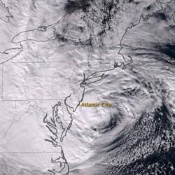 Apokaliptikus csapásként érkezett meg Sandy Amerikába