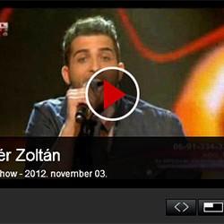 X-faktor: Fehér Zoltán – 4. élő adás – videó