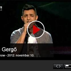 X-faktor: Oláh Gergő – 5. élő adás – videó