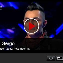 X-faktor: Oláh Gergő – 2012. november 17.
