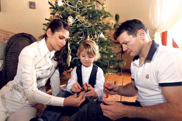 Erdei Zsolt és családja