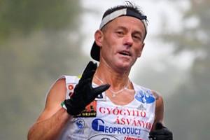 Bogár János extrém maratont nyert Kassán