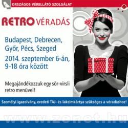 Retro Véradás 2014. Szeptember 6. – Budapest, Debrecen, Győr, Pécs, Szeged
