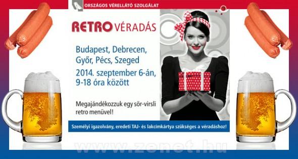 Retro Véradás 2014. Szeptember 6.