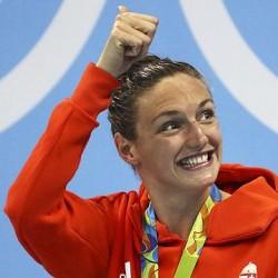 Az olimpia bajnok Hosszú Katinka férje is köszönetet mondott
