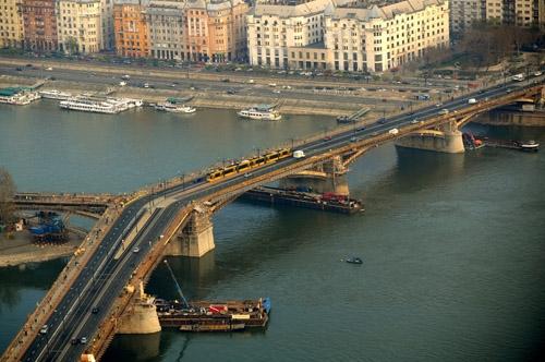 Közlekedés - Margit híd,Közlekedés - Margit híd,Közlekedés - Margit híd